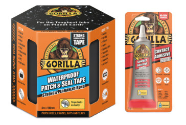 Win great prizes for free with Gorilla Glue