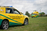 Grant UK donates £10,000 to Wiltshire Air Ambulance charity