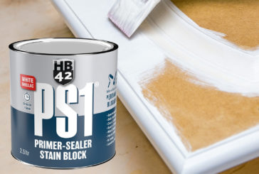 HB42 launches the PS1 Primer-Sealer Stain Block