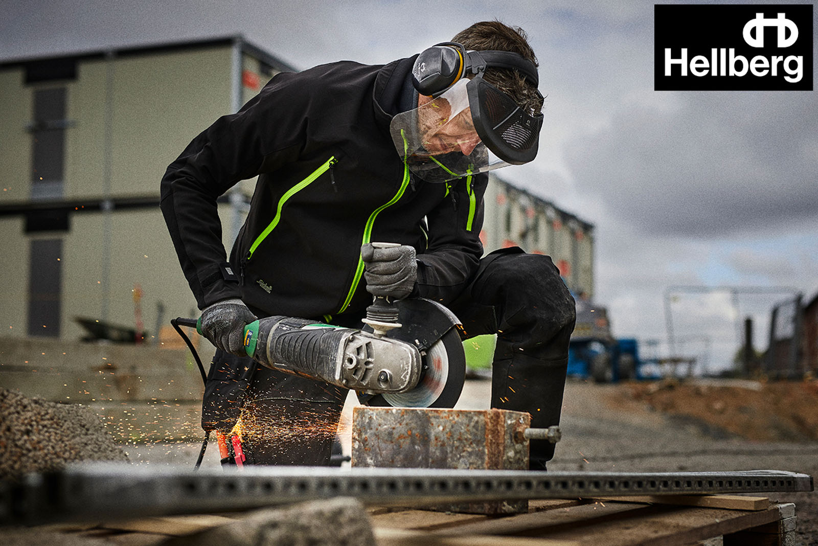 Hellberg Safety's range of face protection products