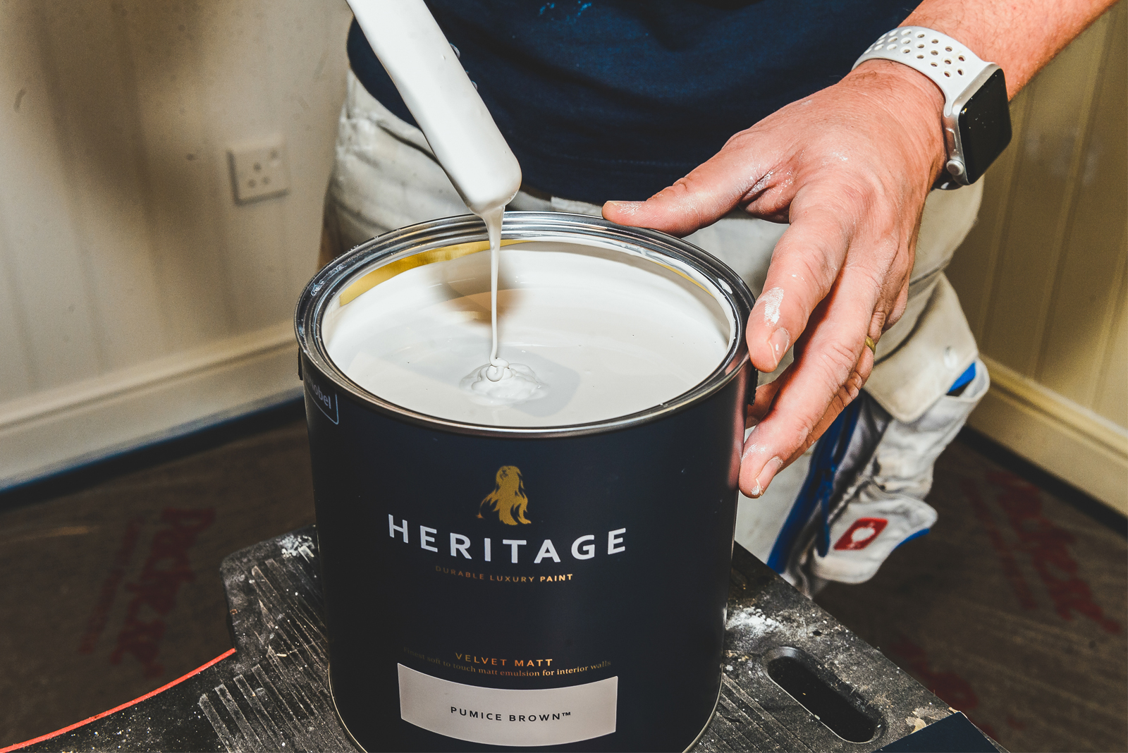 The value of the Dulux Decorator scheme and their latest Heritage range