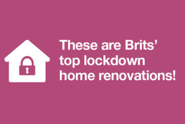 48% of Brits made home improvements in lockdown - spending nearly £2k on average!