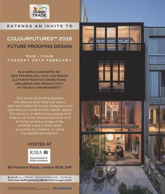 RIBA to host Dulux Trade future-proofing design debate