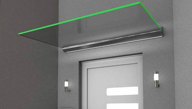 Rainclear launches new door canopies range