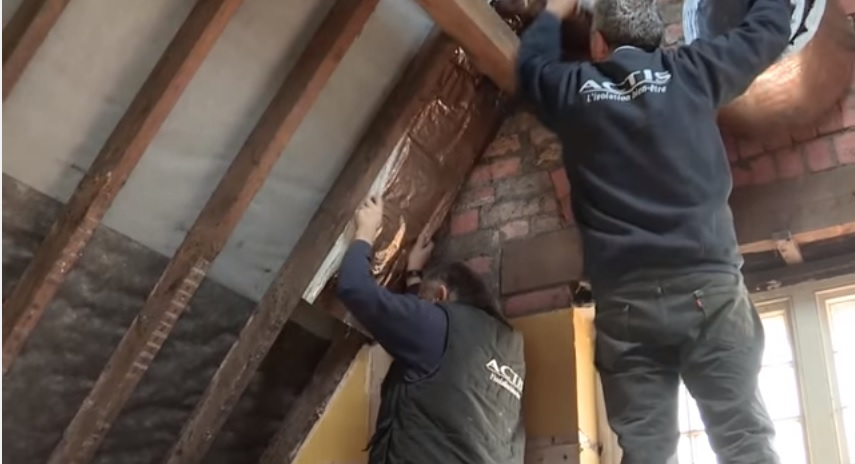 Watch: Installing Insulation