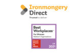 Ironmongerydirect named as one of the UK's Best Workplaces for women