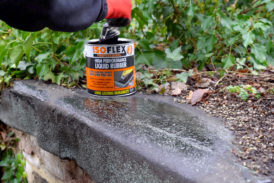 Tackle it with Thompsons: using Isoflex Liquid rubber and you could win a Makita radio!