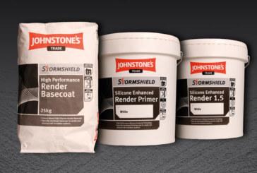 Win a bundle of Johnstone's render