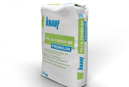 COMPETITION! Win a 5kg Bag of Knauf Compound!