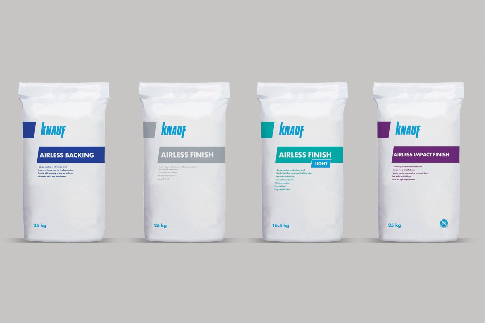 Knauf Airless Spray Finishes: an alternative to traditional gypsum plaster