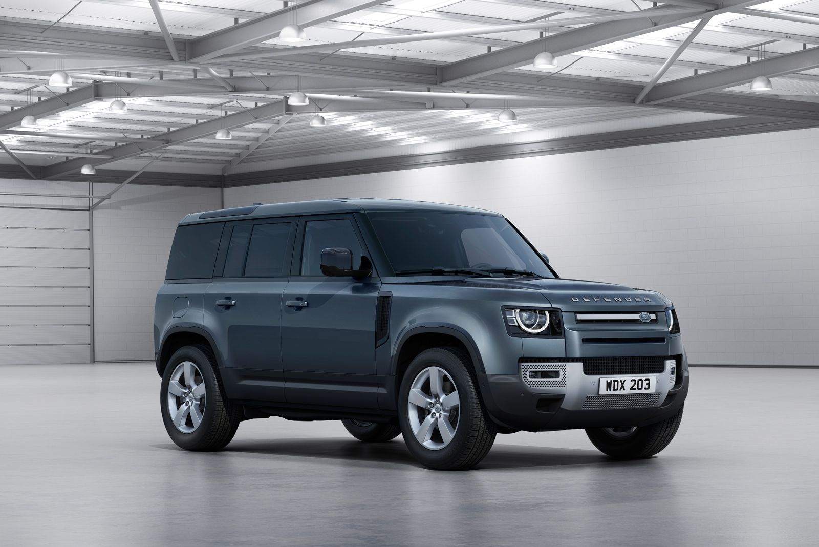 Land Rover's commercial vehicle range