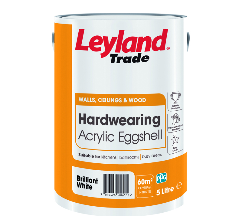 10 tins of Leyland Trade paint to win