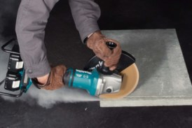 New brushless angle grinder from Makita