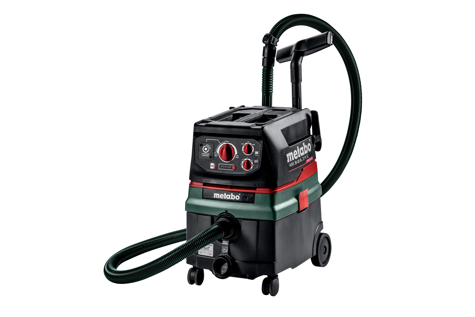 Metabo's new cordless vacuum cleaner