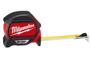Milwaukee premium magnetic measuring tapes