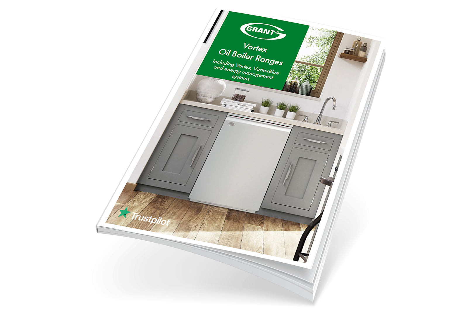 Grant UK unveils new oil boiler brochure