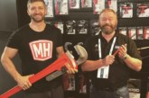Tool Demo Zone at Coventry Toolfair with Andy Cam and Peter Booth
