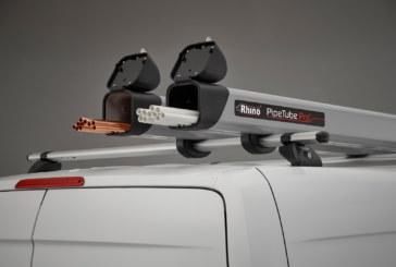 Rhino Products' new 3m PipeTube and AluminiumLadder