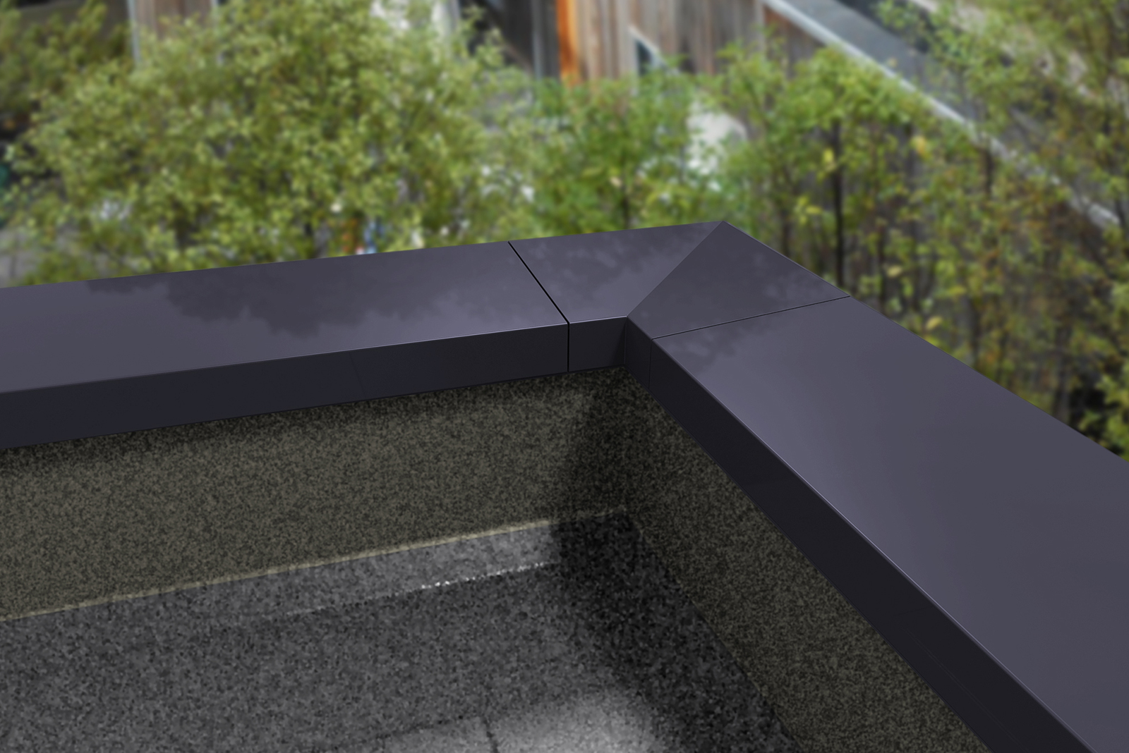 Rainclear Systems adds Skyline Aluminium Sloping Coping to the website