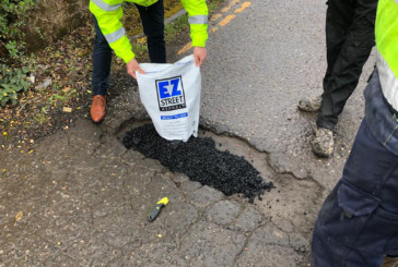 Red Stag Materials' pothole repair solution