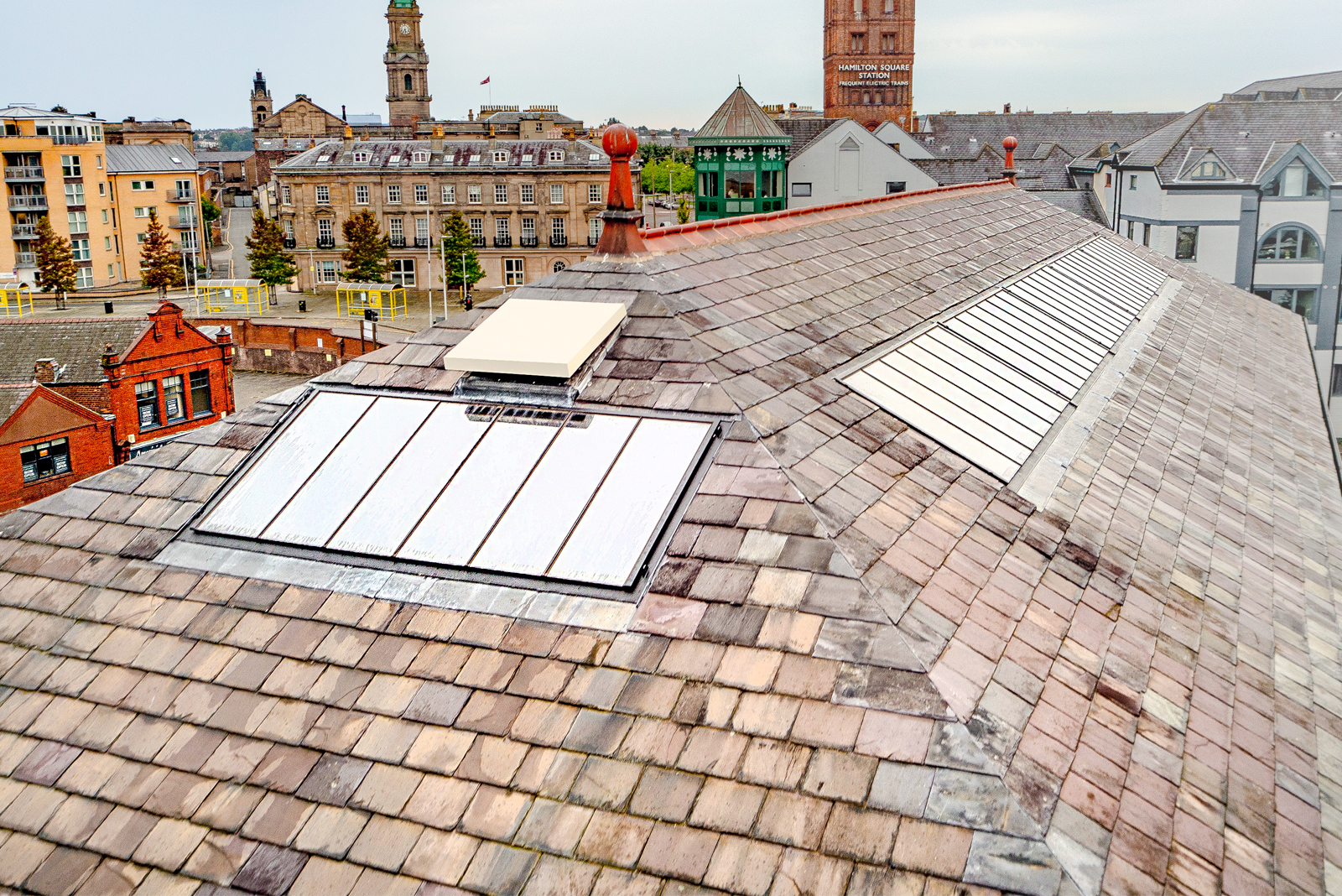 The practicality in specifying large rooflights