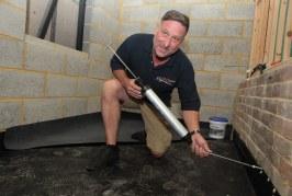 DryRod: Roger Bisby Tests Safeguard's Damp Solution