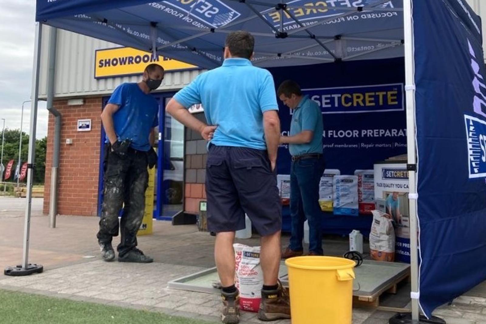 Setcrete Builders Trade Demonstration Days