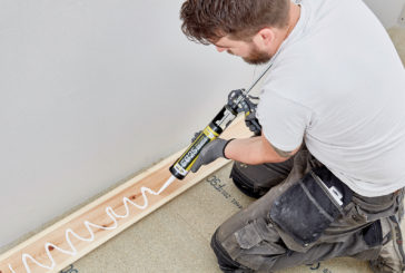 Choosing the correct adhesive for a long-lasting finish