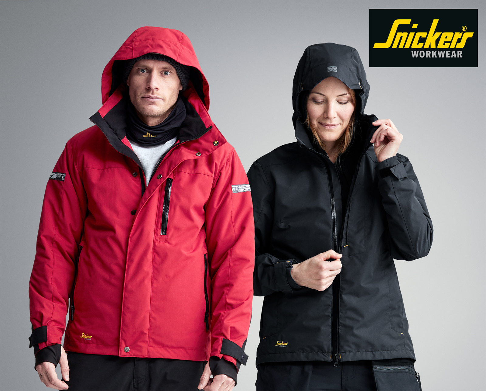 Snickers waterproof jackets