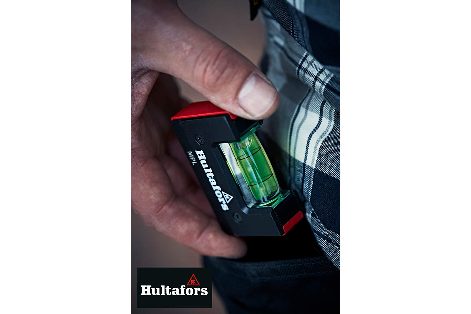 Win a pocket spirit level with Hultafors Tools