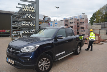 SsangYong's new LWB Musso Rhino pick up