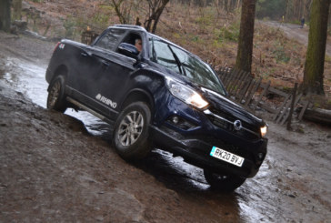 Testing out the SsangYong LWB Musso Rhino