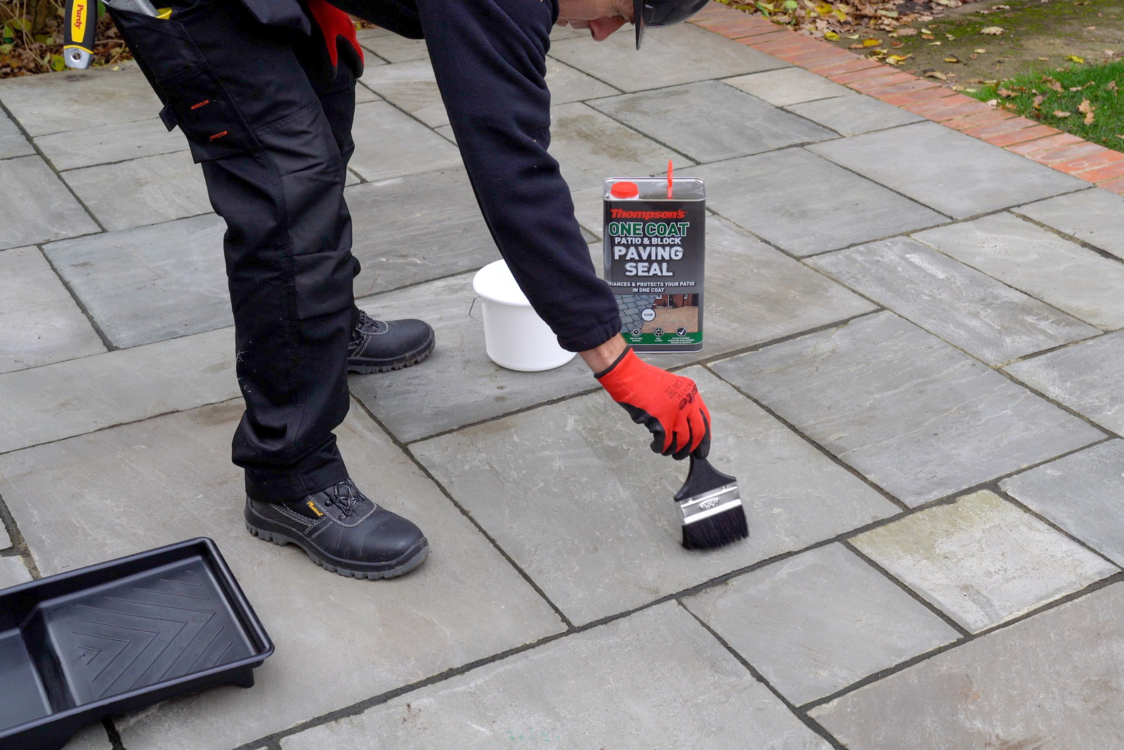 Tackle it with Thompson's: One Coat Patio plus you could win a Makita radio!