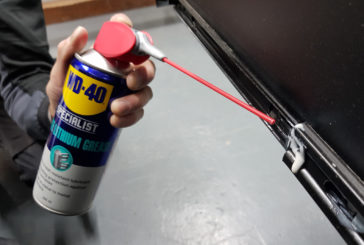 Tibby Singh tests out the WD-40 range