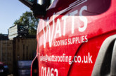 Opening day for new Watts Roofing branch