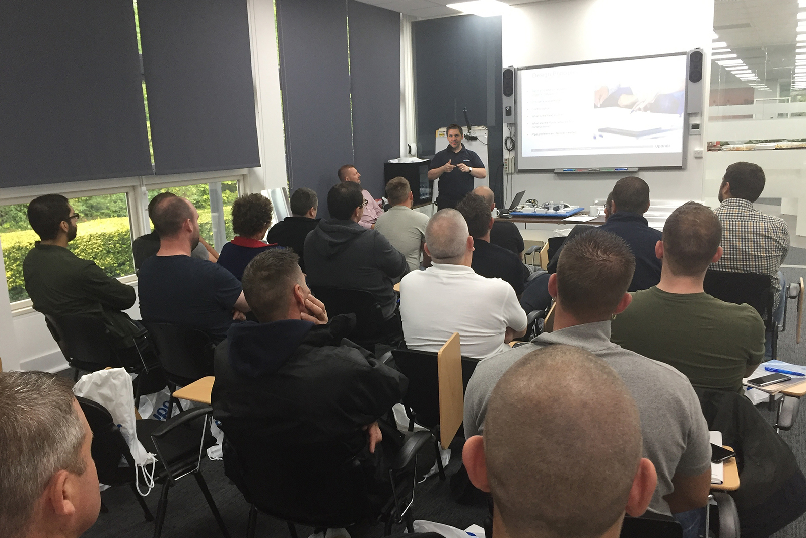 Over 2,000 certificates awarded through Uponor's successful training programme