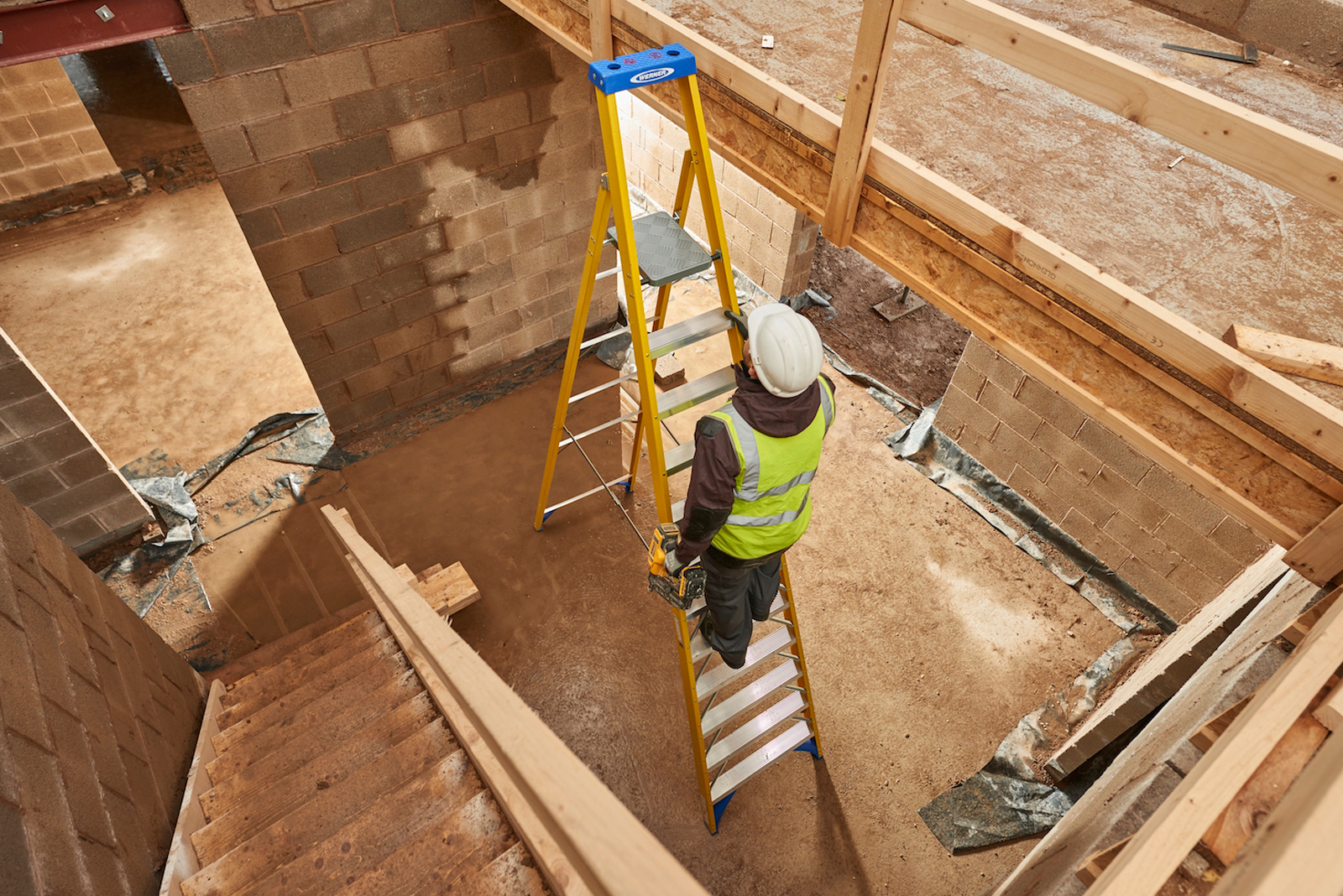 Work at height equipment for builders with WernerCo