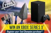 Win an XBOX Series X with Faithfull Tools